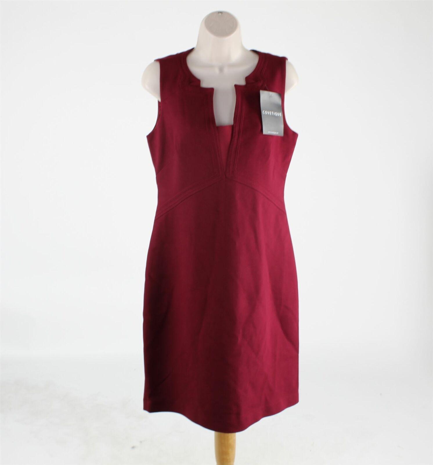 ELIE TAHARI rot Dress, UK 12 US 8 EU 40