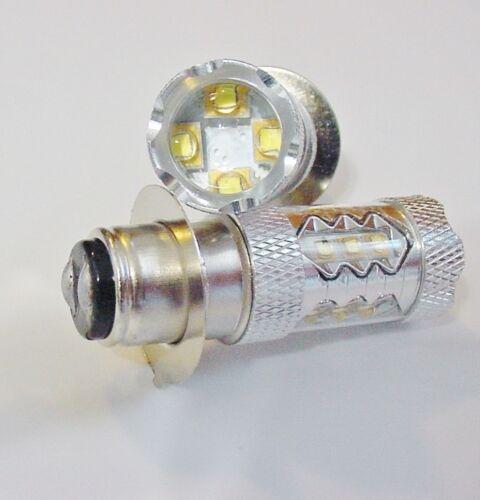 2007 2008 2009 Sportrax 300 400 EX Super White 80W LEDs Headlight Bulb For Honda