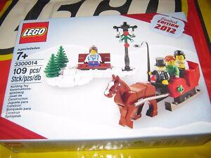 Set de Noël saisonnier Lego 3300014 Édition limitée Exclusive 2012 rare Promo 673419198196