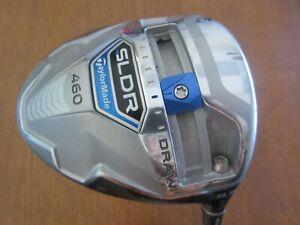 Used-TaylorMade-Golf-SLDR-460-9-5-Driver-Speeder-57-Graphite-Stiff-Flex-GOOD