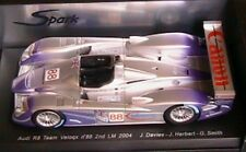 AUDI R8 TEAM VELOQX #88 2ND 24 HOURS OF LE MANS 2004 SPARK 1/18 NEW