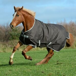 Bucas Freedom Turnout Rug 300g Coffee