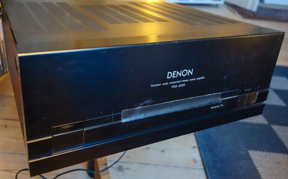 Effektforstærker, Denon, POA 2200