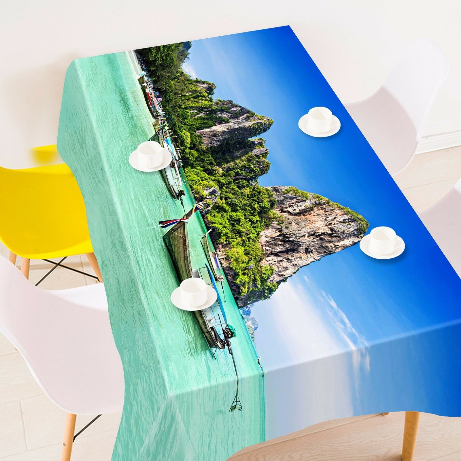 3D Reef sea 85 Tablecloth Table Cover Cloth Birthday Party Event AJ WALLPAPER AU