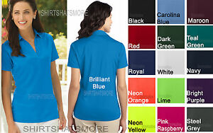 Ladies P.A. Moisture Wicking Dri Fit Polo Womens Shirt Golf Tennis ... 48a8a1accf