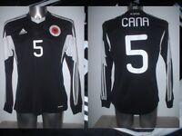 Albania Lorik Cana Adidas M L Xl Shirt Jersey Football Soccer Maglia B