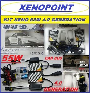 KIT-XENON-XENO-H7-55W-SLIM-4-0-GENERATION-H1-H3-H11-5000K-6000K-PRO-CAM-BUS