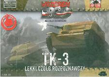 First to Fight 005 Polish Light Tank (tanquete) TK-3 with machine gun 1/72