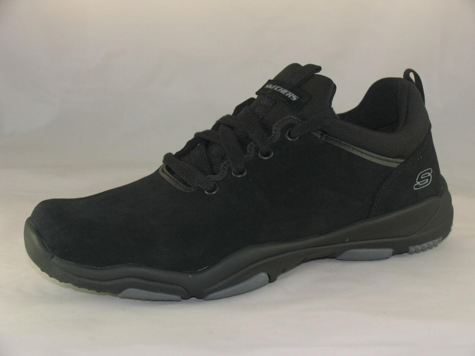 Men's Skechers 65166 Black Lace-up shoes