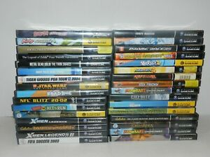 Nintendo-Gamecube-Games-Complete-Fun-You-Pick-amp-Choose-Video-Games-Lot-UPDATED