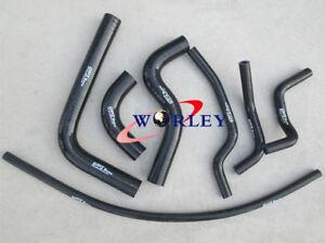 For SUZUKI SAMURAI 1986-1995 88 89 90 91 92 93 Silicone radiator heater hose BLACK