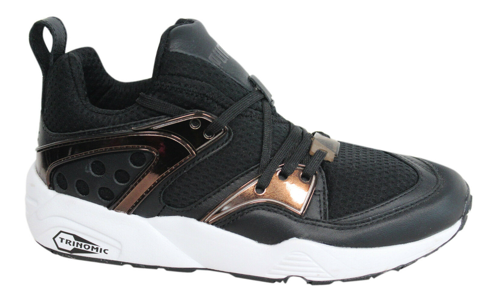 Puma Trinomic BOG Blaze Of Glory Metallic Mens Lo Trainers Trainers Trainers Lace Up 361851 04 M3 83aed8