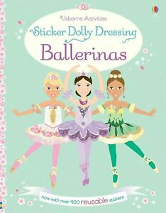 Autocollant Dolly Dressing Ballerines Par Fiona Watt