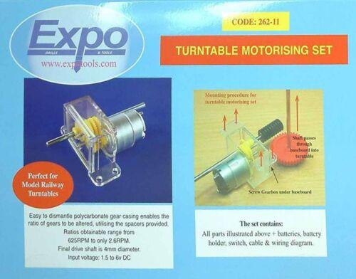 Expotools 26211 Turntable motorising kit