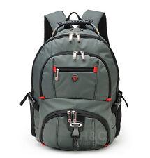 """Men's  Rucksack Notebook 15.6"""" Laptop Backpack Shoulder Hiking Travel School Bag"""