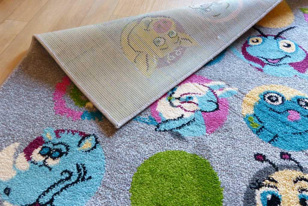 42% riduce gioco tappeto bambini tappeto Grafite stanza dei bambini animali Grafite tappeto 133 x 180 ef0332