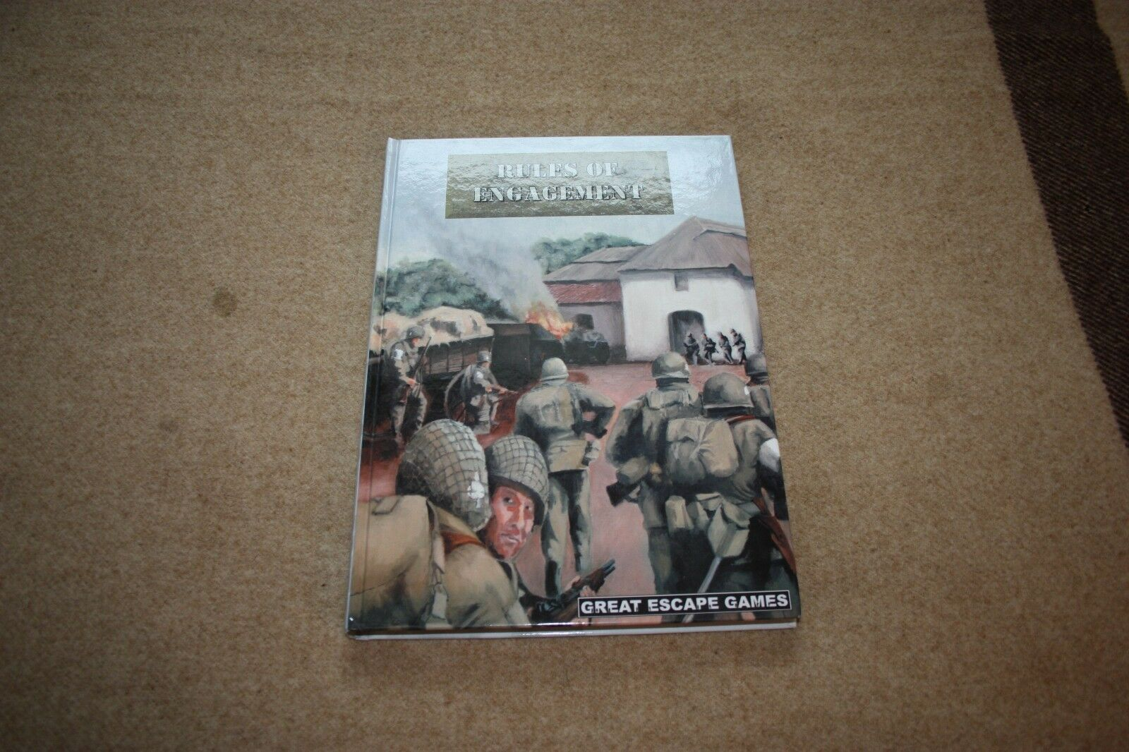GREAT ESCAPE GAMES RULES OF ENGAGEMENT TABLETOP WARGAME RULE BOOK NEW 28mm