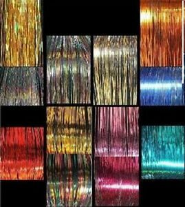 3-120-STRAND-13-PACKS-40-034-OF-SPARKLE-SILK-HAIR-TINSEL
