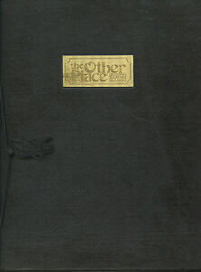 """Older Restaurant Menu - The Other Place - 12"""" x 9"""" - Hardcover"""