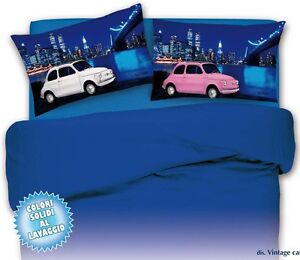 Copripiumino Cars Una Piazza E Mezza.Parure Copripiumino Una Piazza E Mezza 1 1 2 500 Cars Bianco Rosa