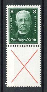 Deutsches-Reich-Zusammendruck-MiNr-S-37-postfrisch-MNH-geprueft-Schlegel-O339