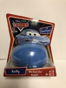 Disney-Pixar-Cars-Die-Cast-Car-In-Egg-SALLY-New-in-Package