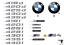 New-Genuine-BMW-M4-Badge-Rear-Boot-Emblem-Stick-On-8068579-OEM thumbnail 2