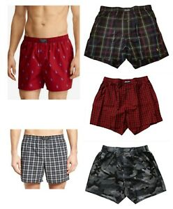 New-Polo-Ralph-Lauren-Men-039-s-Classic-Cotton-Woven-Printed-Boxer-Shorts-Underwear