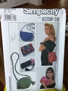 Oop-Simplicity-8938-misses-evening-bags-clutches-novelty-bows-NEW