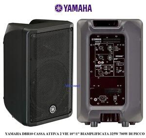 YAMAHA-DBR10-CASSA-ATTIVA-10-034-1-034-BIAMPLIFICATA-325W-700W-max-MONITOR-4-ANNI-GAR