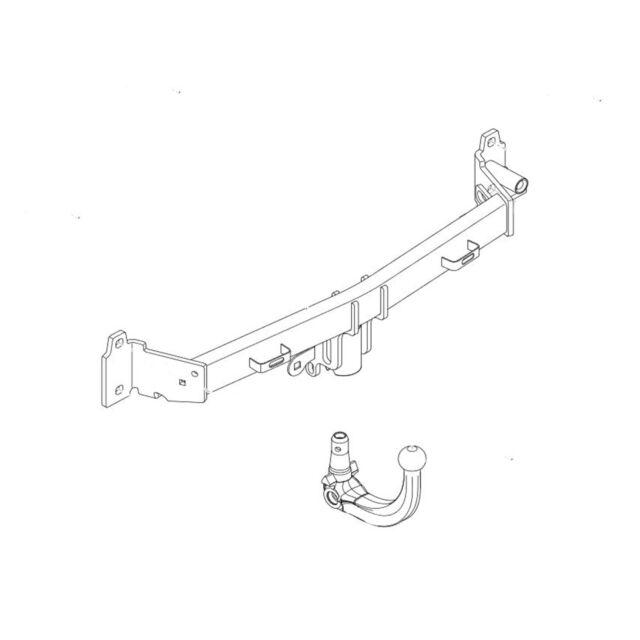 Brink Towbar for BMW 5 Series Estate F11 Detachable Tow Bar 2009-2017