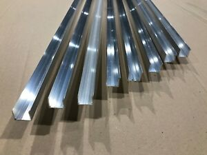 alu abschlu profil f r doppel stegplatten xt pc 16 mm aluminium u profil 1200 mm ebay. Black Bedroom Furniture Sets. Home Design Ideas