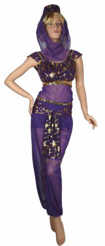 Bauchtanz Harem Kostüm für Fasching Karneval