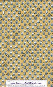 Minion-Yellow-1649-23992-S-Despicable-Me-Movie-Quilting-Novelty-Quilt-Fabric-BTY