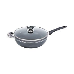 26CM-Non-Stick-Long-Handle-Deep-Wok-Frying-Stir-Induction-Pan-Cooking-Aluminium