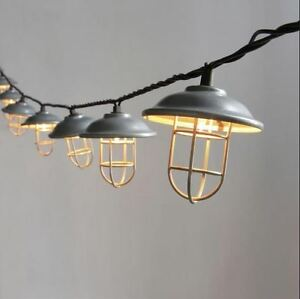 Rv Patio Lights Party Porch Backyard Awning String Lamp