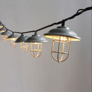 Rustic Indoor String Lights : RV Patio Lights Party Porch Backyard Awning String Lamp Rustic Lantern Outdoor eBay