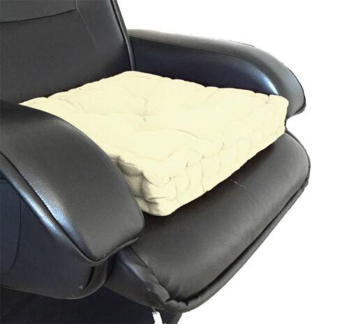 Sitzpolster Booster Erwachsene Grob Ess Büro Garten Sessel Stuhl Dicke Kissen