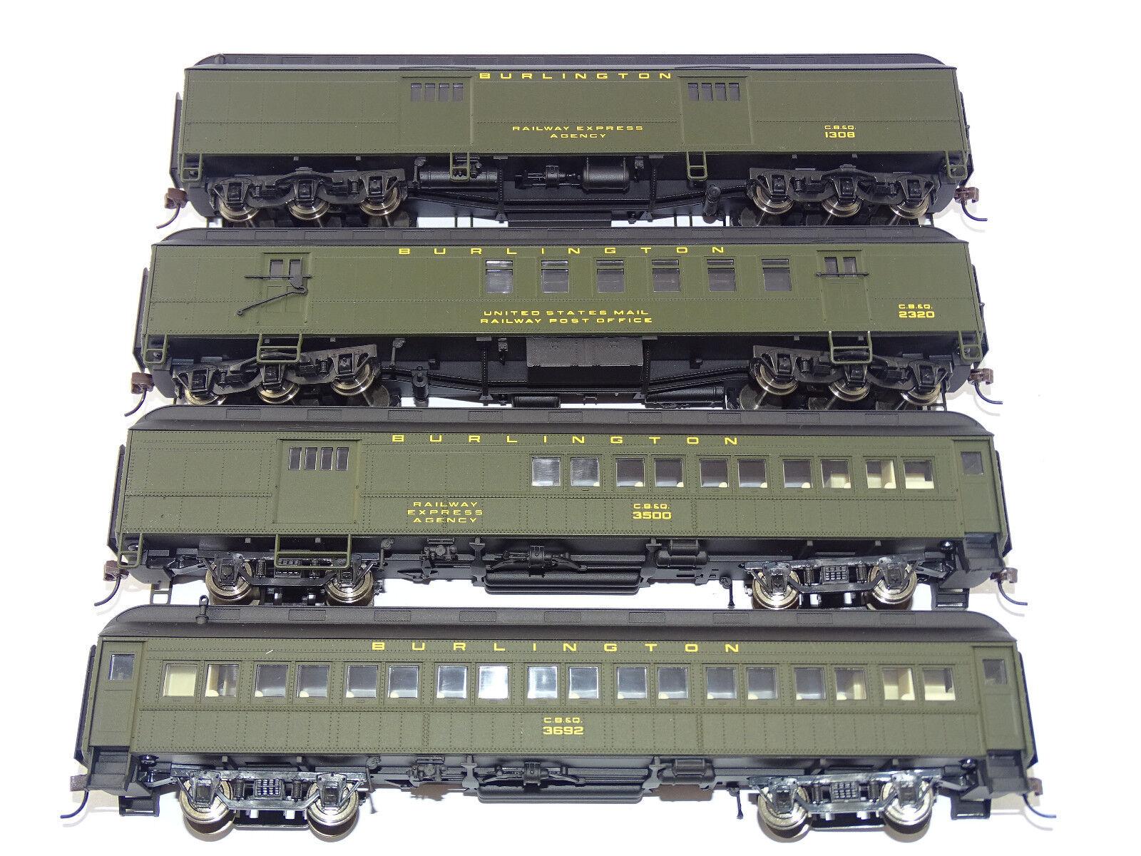RIVAROSSI rt600223 Vagoni Set  cago & North Western HWT NUOVO OVP RARE