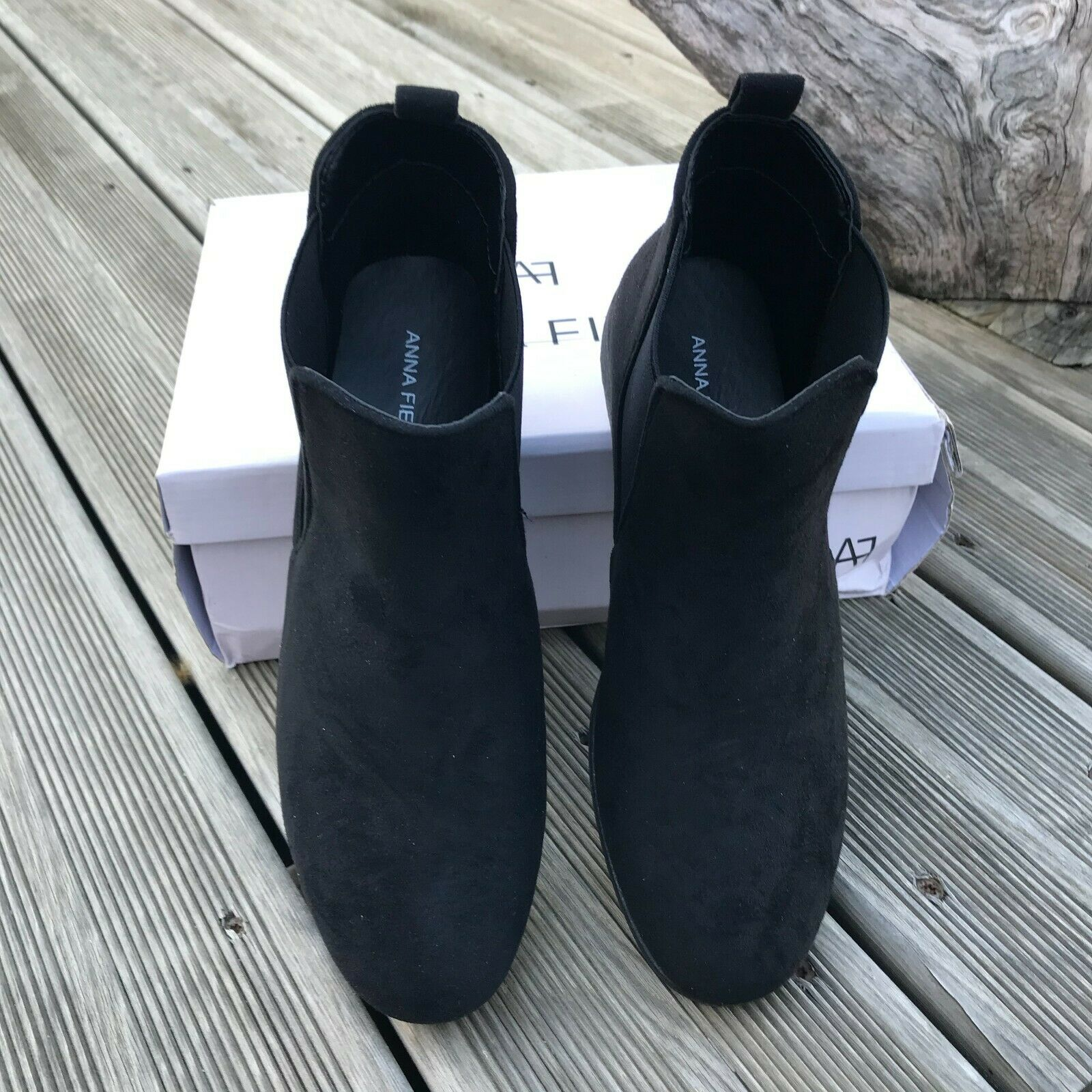 ANNA FIELD Boots à talons noir TAILLE 39