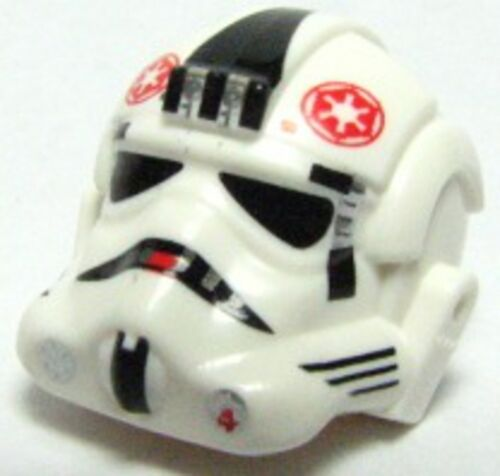 LEGO AT-AT Driver Red Imperial Logo Minifig Headgear Helmet  Stormtrooper