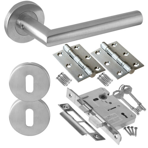 Sirius Internal Door Handle Sets Latch Lock Bathroom Door Handle Packs ZCS2010