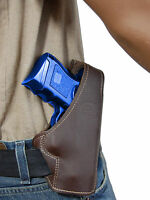 Barsony Brown Leather Pancake Holster For Astra Beretta Compact 9mm 40 45