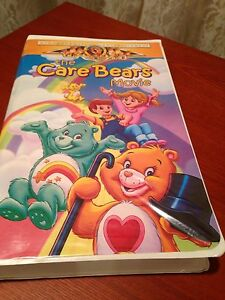 The Care Bears Movie VHS Clamshell Cover