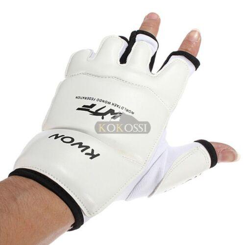 Half Finger Fight Boxing Gloves Mitts Sanda Karate Sandbag TKD MMA Kids Adults