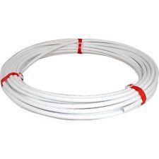15mm x25mtr BIANCO PLASTICA PushFit barriera TUBO / TUBO PER IMPIANTI IDRAULICI / il riscaldamento centrale