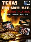 3 Mats Per Pack -Texas BBQ Grill Mat !!! Ship in Original Package From Texas !!!