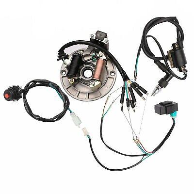 Magneto plate stator on Apollo 70cc,125cc dirt bike or other kick starter engine