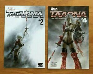 Taarna-2-4-Luis-Royo-Main-amp-Variant-Covers-1st-Prints-Heavy-Metal-NM
