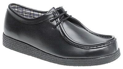 100% QualitäT Classic Mens Boys Wallaby Style Leather Shoe Sizes 13 Child To Adult 12 Einfach Und Leicht Zu Handhaben